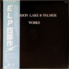Emerson, Lake & Palmer ‎– Works Volume 1 OBI (Atlantic ‎– P-6311~2A)  ( 2xLP )