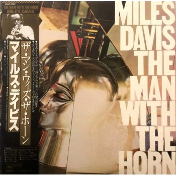 Miles Davis ‎– The Man With The Horn OBI (CBS/Sony ‎– 25AP 2095) ( LP )