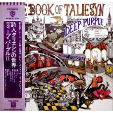 Deep Purple ‎– The Book Of Taliesyn  (Warner Bros. Records ‎– P-8377W) ( LP )