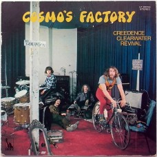 Creedence Clearwater Revival – Cosmo's Factory (Liberty – LP-80054) 1ST PRESS  RED Vinyl ( LP )