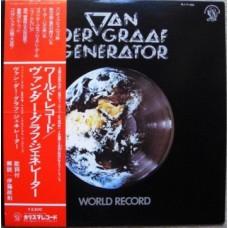 Van Der Graaf Generator – World Record OBI (Charisma – RJ-7185) PROMO  ( LP )