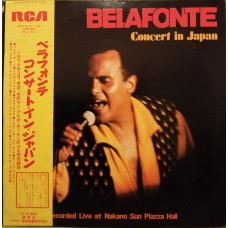 Harry Belafonte ‎– Concert In Japan OBI (RCA ‎– RCA-9101*2) 2xLP ( 2xLP )