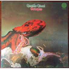 Gentle Giant ‎– Octopus (Vertigo ‎– RJ-7265) ( LP )