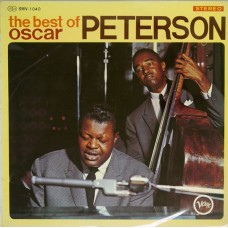 Oscar Peterson ‎– The Best Of Oscar Peterson (Verve Records ‎– SMV-1040) ( LP )
