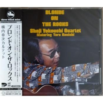 Shoji Yokouchi Quartet featuring Toru Konishi – Blonde On The Rocks OBI (CMRS-0084, Three Blind Mice – TMB-65) CD NEW(Sealed) ( CD )