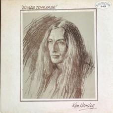 Ken Hensley – Eager To Please (Bronze Records – P-8581B) PROMO  ( LP )