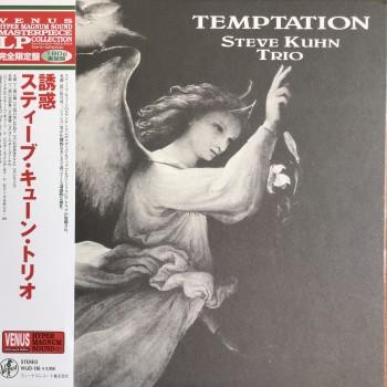 Steve Kuhn Trio - Temptation OBI (Venus Records – VHJD-196) Ltd 180g  NEW ( LP )