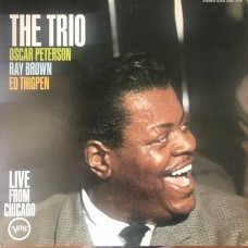 Oscar Peterson Trio ‎– The Trio : Live From Chicago OBI (Verve Records ‎– MV 2088) ( LP )