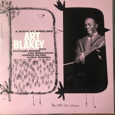 Art Blakey Quintet ‎– A Night At Birdland, Volume 1 (Blue Note ‎– BN 1521, Blue Note ‎– BLP 1521) (LP)