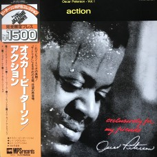 Oscar Peterson ‎– Action OBI (MPS Records ‎– ULS 1697 P)  ( LP )