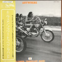 Flower Travellin' Band ‎– Anywhere OBI (Nippon Phonogram Co., Ltd. ‎– UPJY-9127) NEW(Sealed) ( LP )