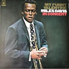 Miles Davis – My Funny Valentine - Miles Davis In Concert  (CBS/Sony – 25AP 760)  ( LP )